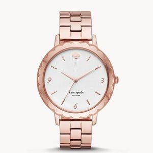 💎 Kate Spade rose gold scallop watch NWT